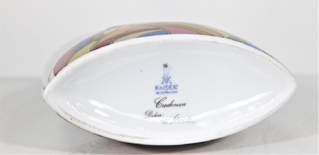 Vintage W. Germany Kaiser Porcelain Vase - 5