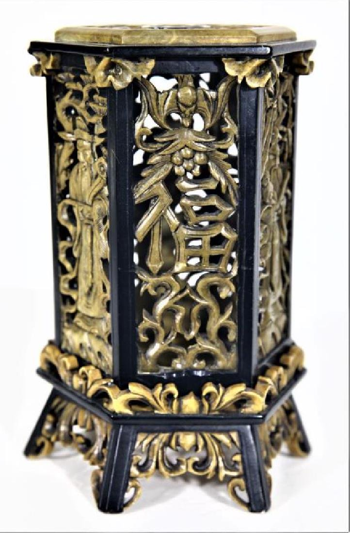 Chinese Decorative Stone Carved Stand