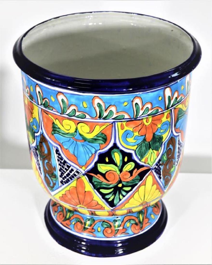 Colorfully Designed Ceramic Planter - 2