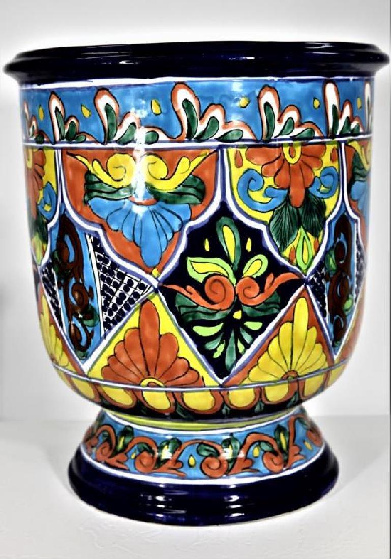 Colorfully Designed Ceramic Planter - 3
