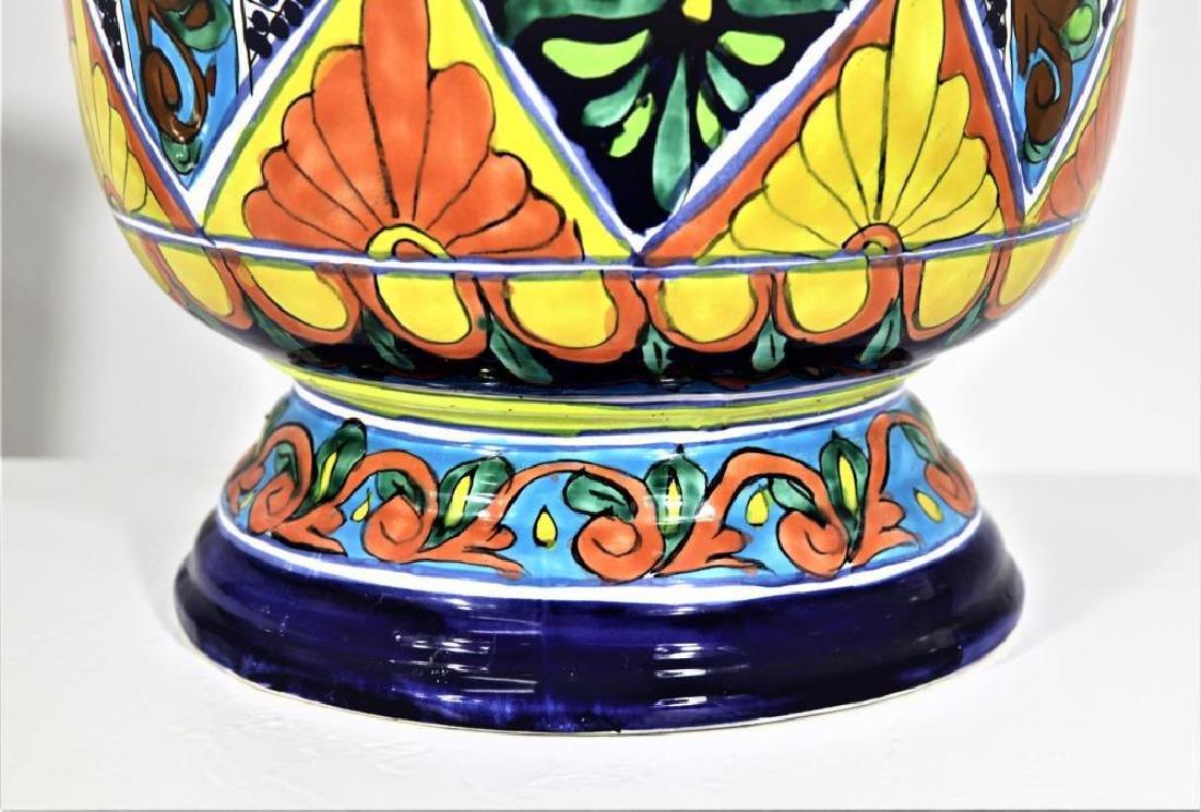 Colorfully Designed Ceramic Planter - 4