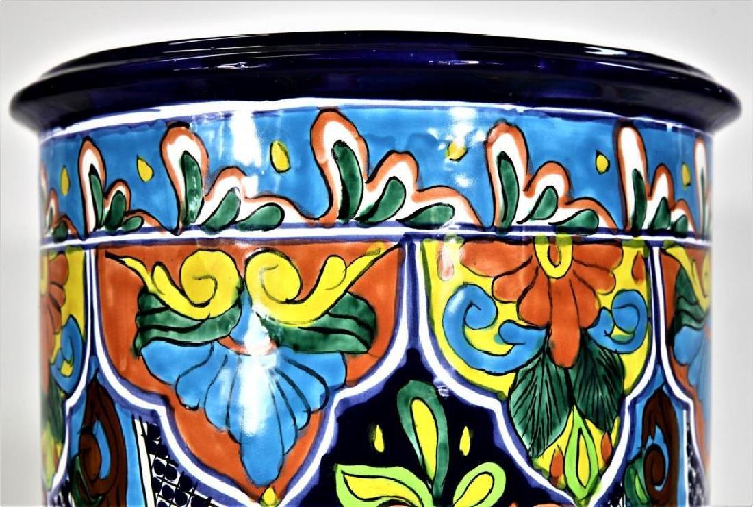 Colorfully Designed Ceramic Planter - 5