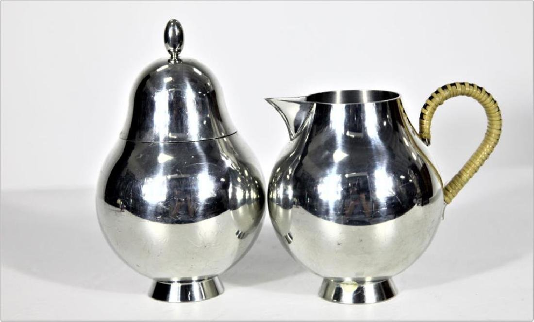 Diminutive Nick Munro Cream Jug and Sugar Bowl - 2