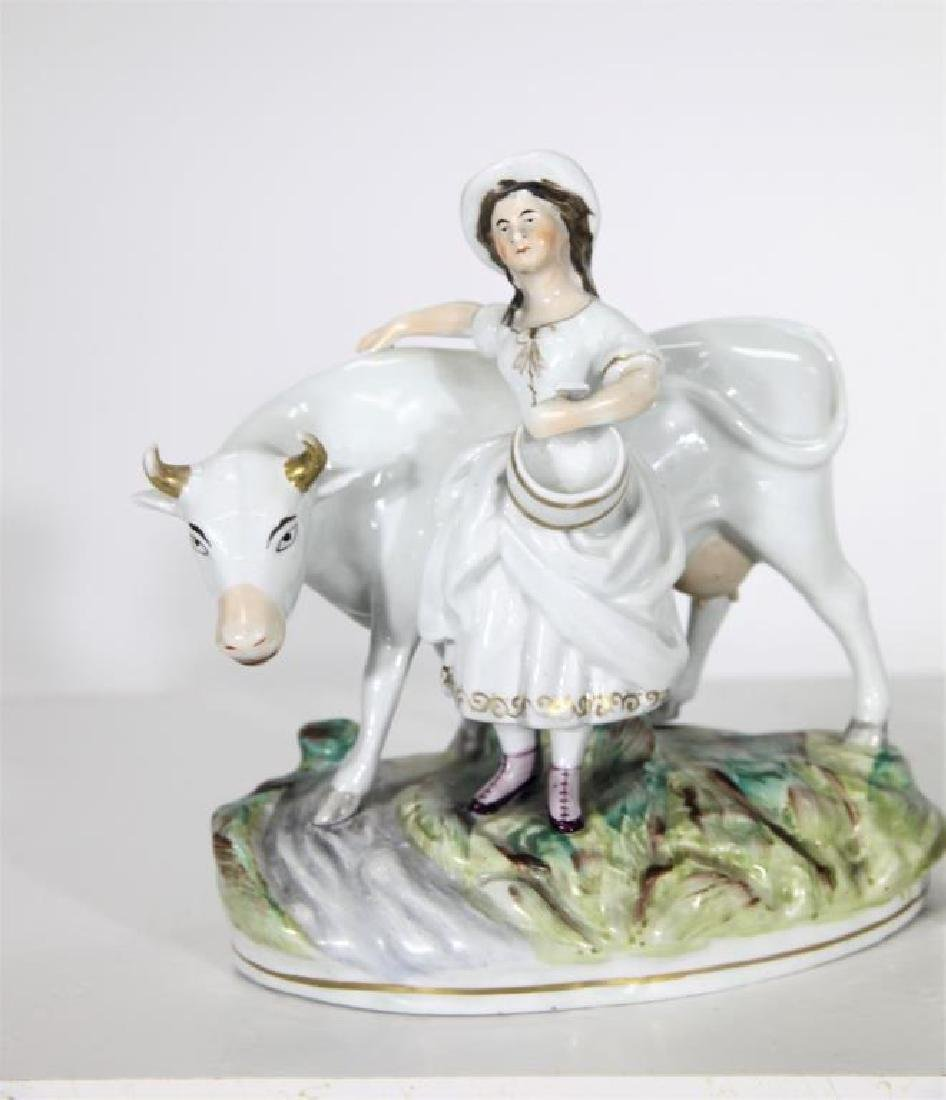 Pair of Staffordshire Figures - 2