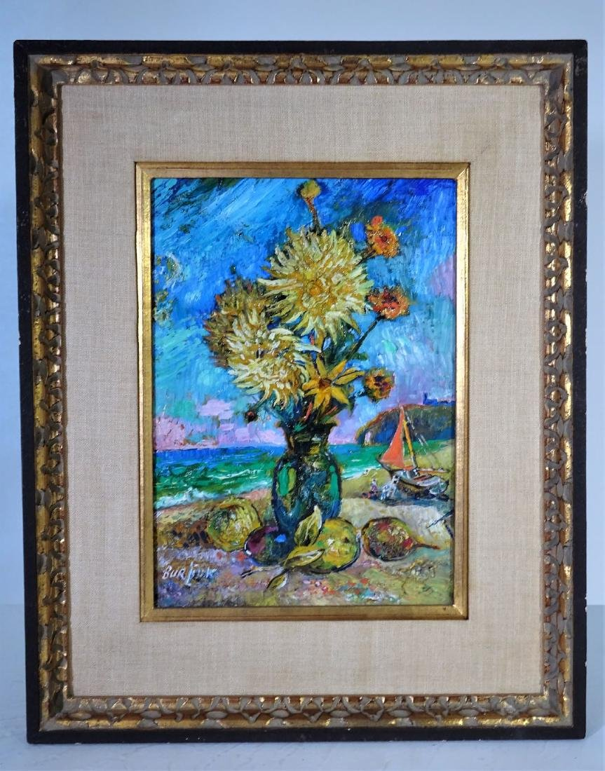 Signed, David Burliuk (1882-1967) Oil on Canvas