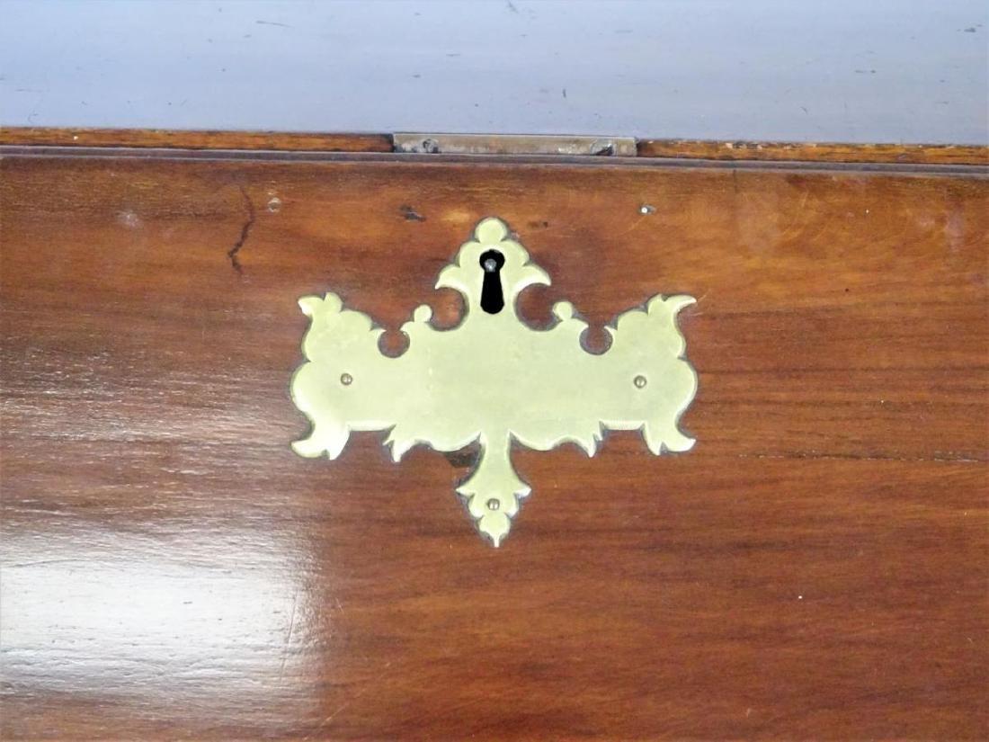 Attrib. William King Serpentine Slant Front Desk - 6
