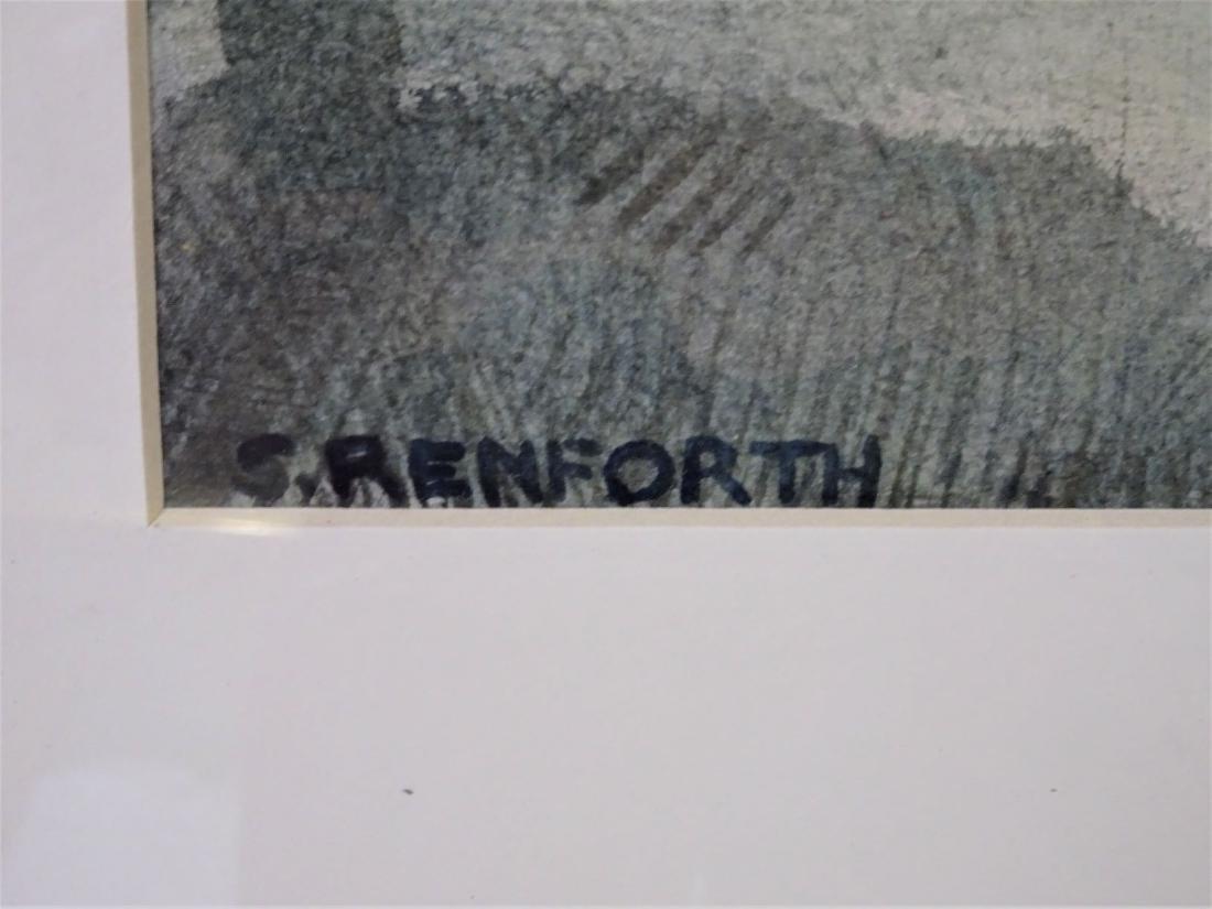 American School 20th Century Signed S. Renforth - 3