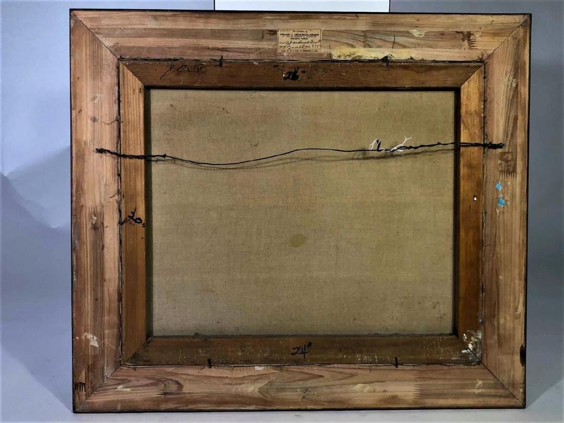 "Al Buell (1910-1996) ""Lido Beach"" Oil on Canvas - 5"