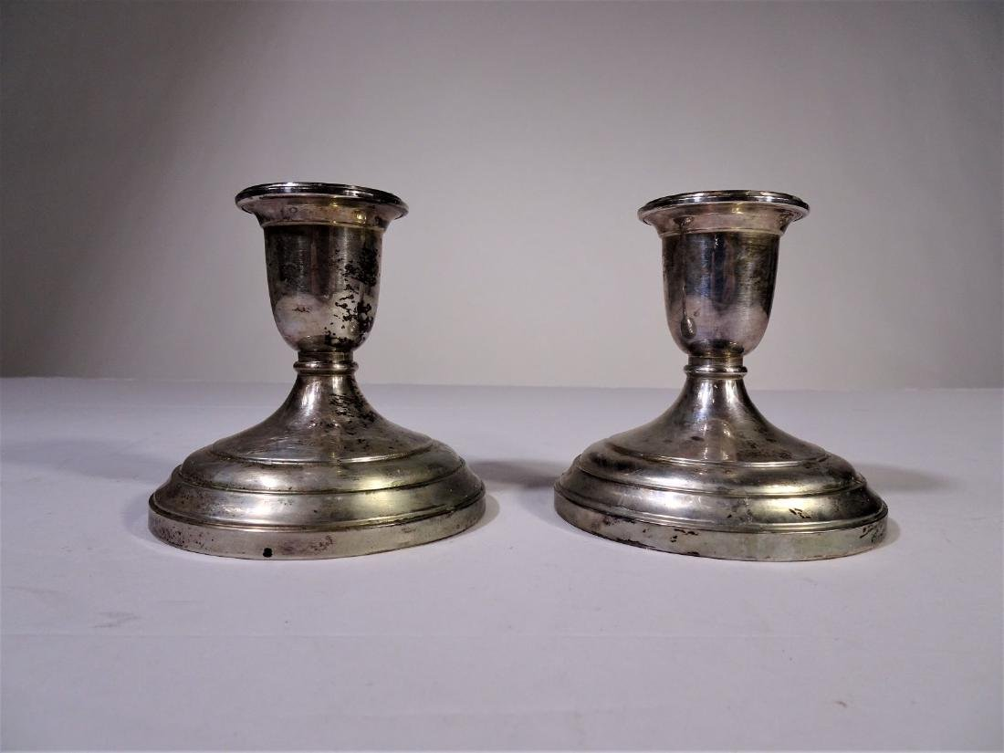 S. Kirk&Son Sterling Silver Weighted Candlesticks
