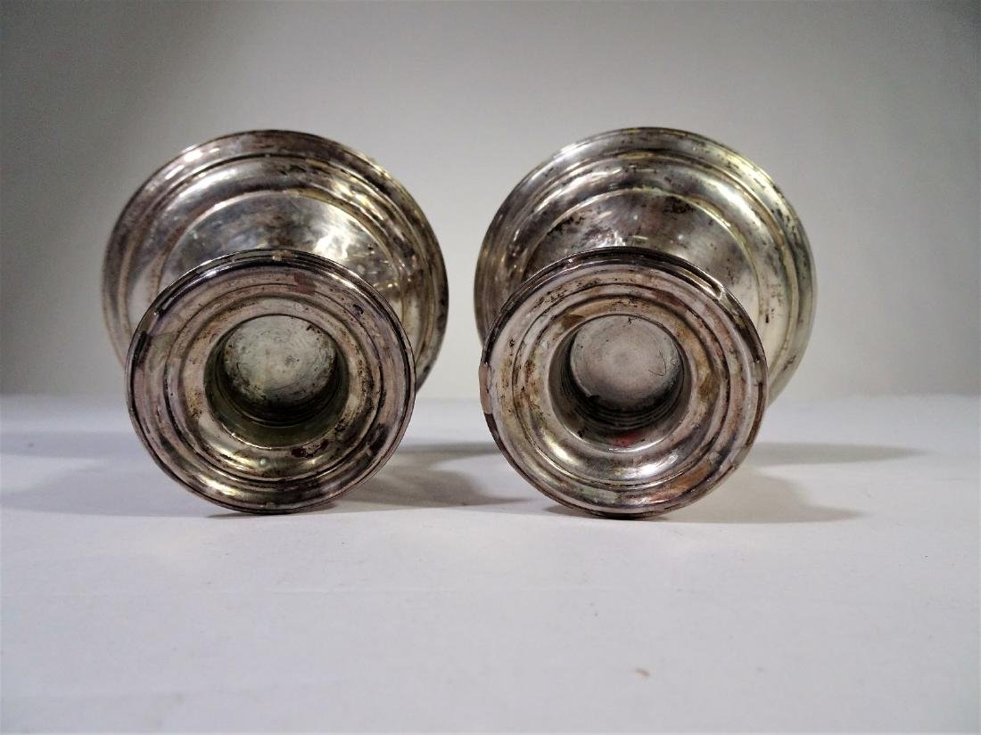 S. Kirk&Son Sterling Silver Weighted Candlesticks - 2
