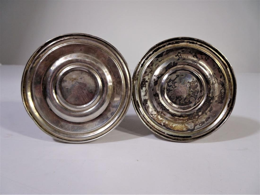 S. Kirk&Son Sterling Silver Weighted Candlesticks - 3