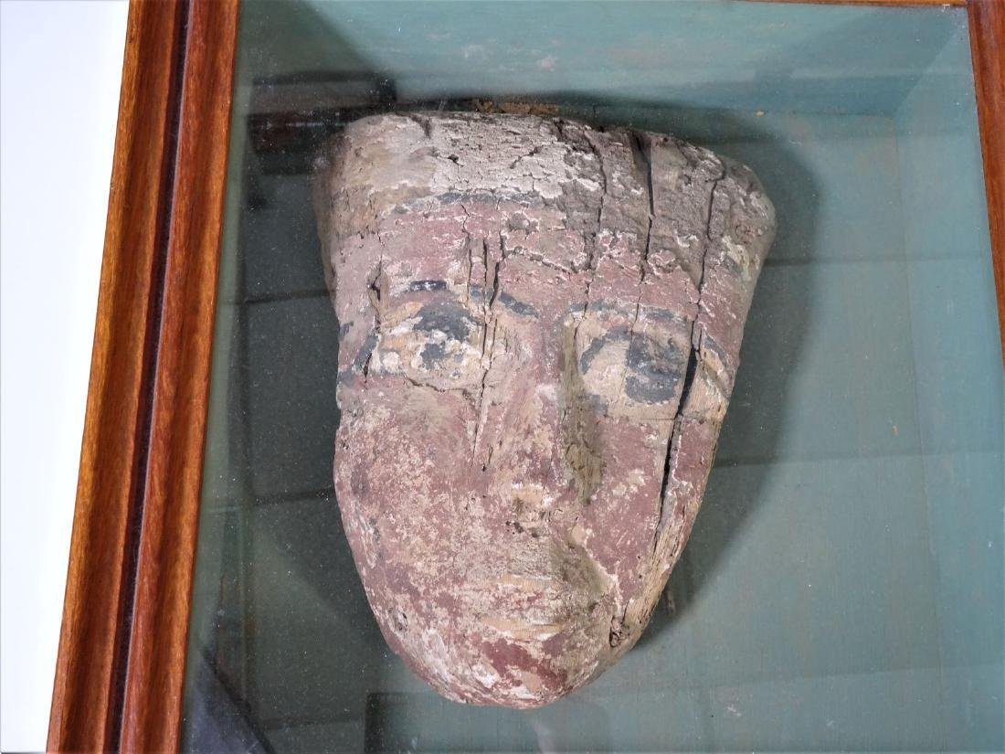 Ancient Egyptian Funerary Mask - 2