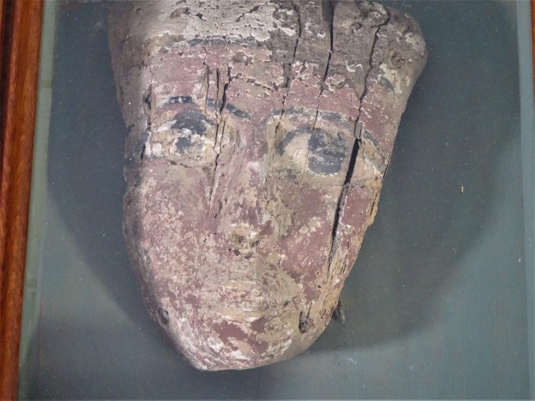 Ancient Egyptian Funerary Mask - 4