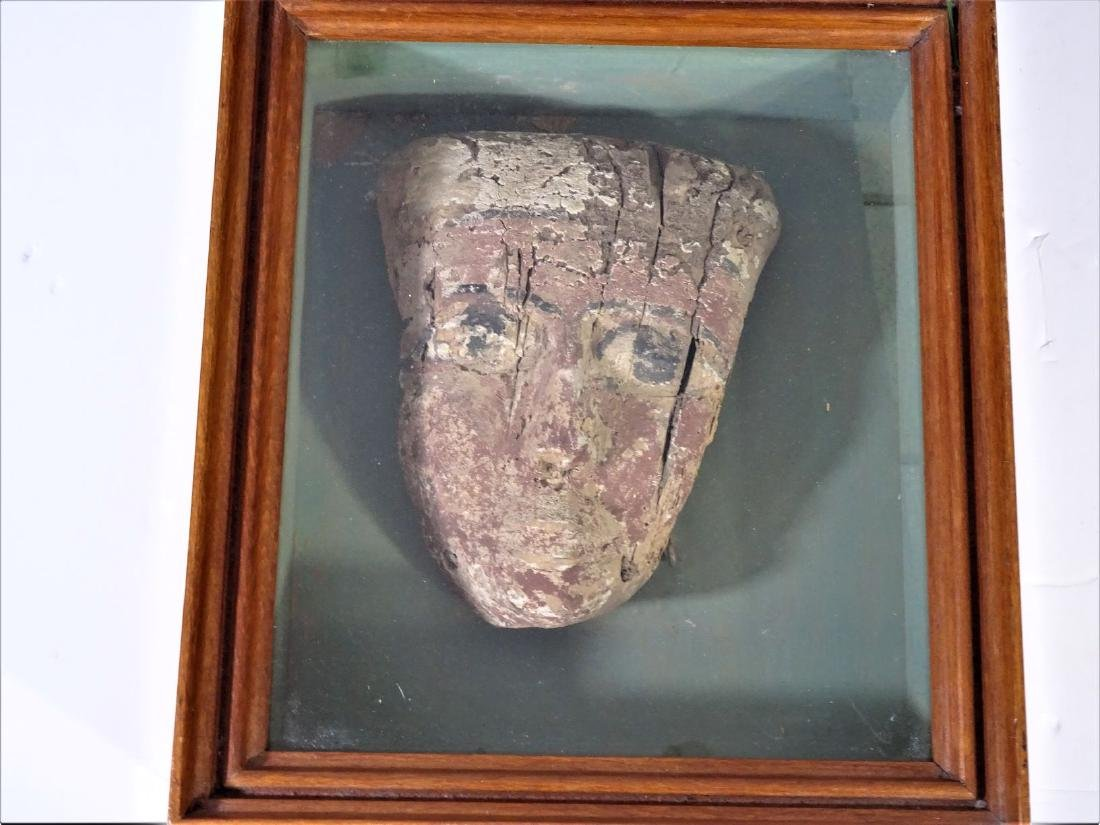 Ancient Egyptian Funerary Mask - 5