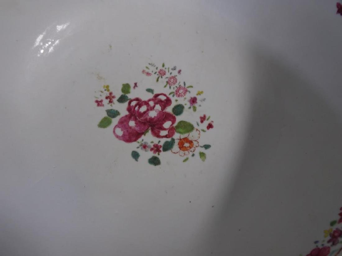 19th C. Chinese Export Porcelain Punch Bowl - 2