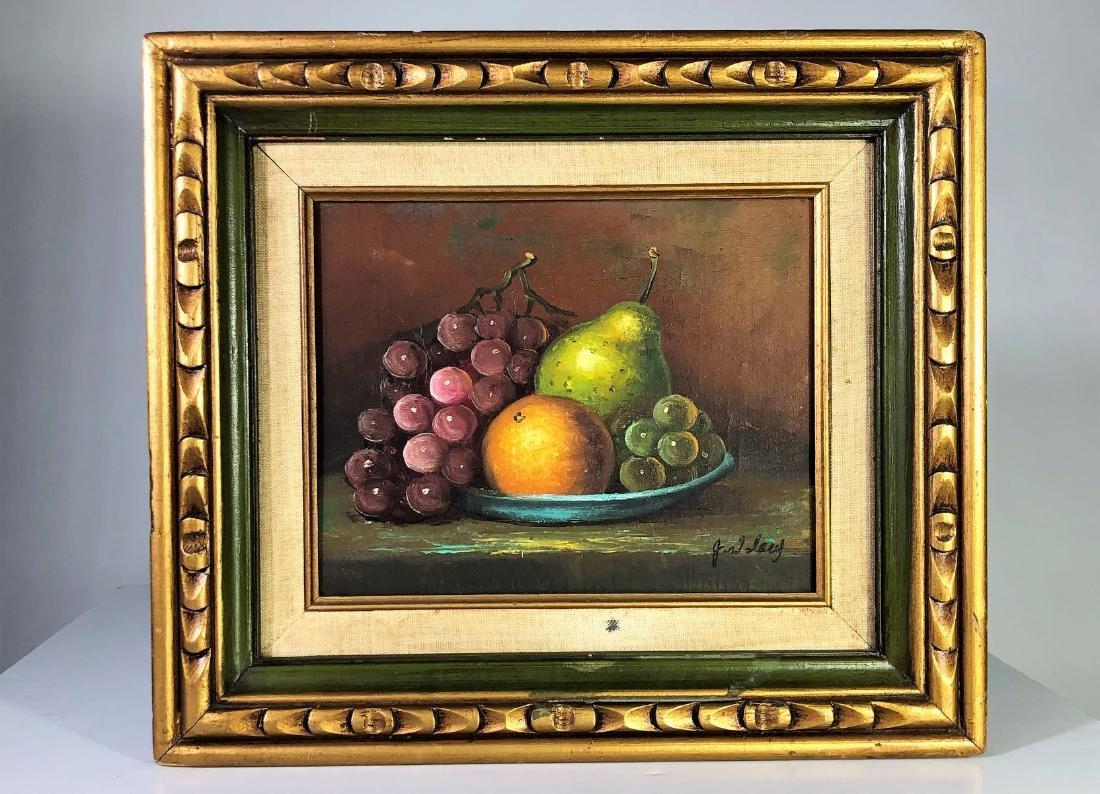 J. Wolsey, Oil on Canvas, Still Life