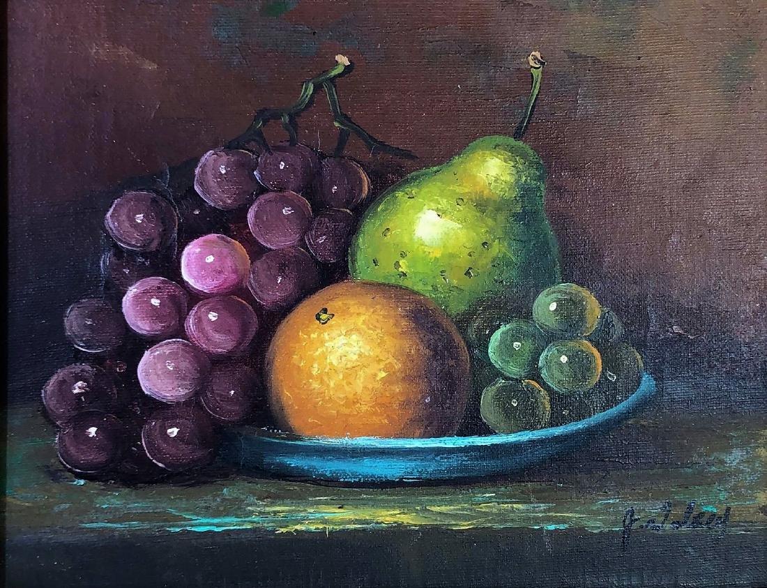 J. Wolsey, Oil on Canvas, Still Life - 4
