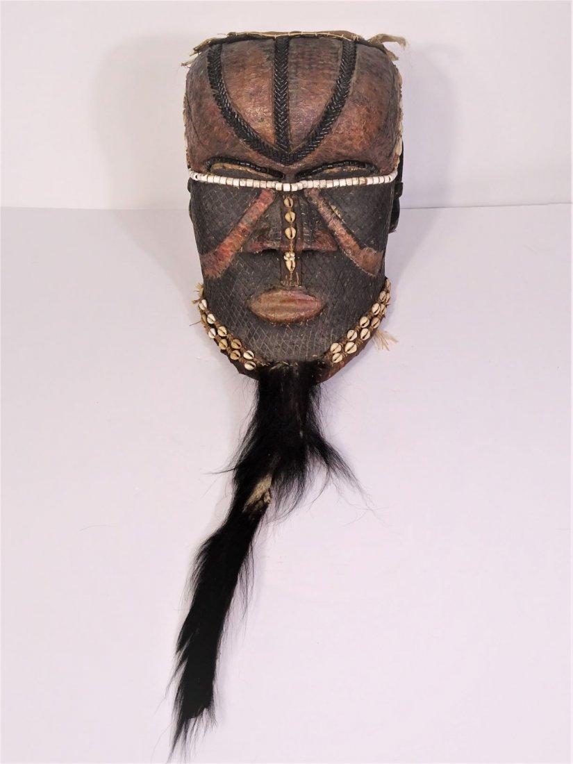 20th Century African Helmet Mask