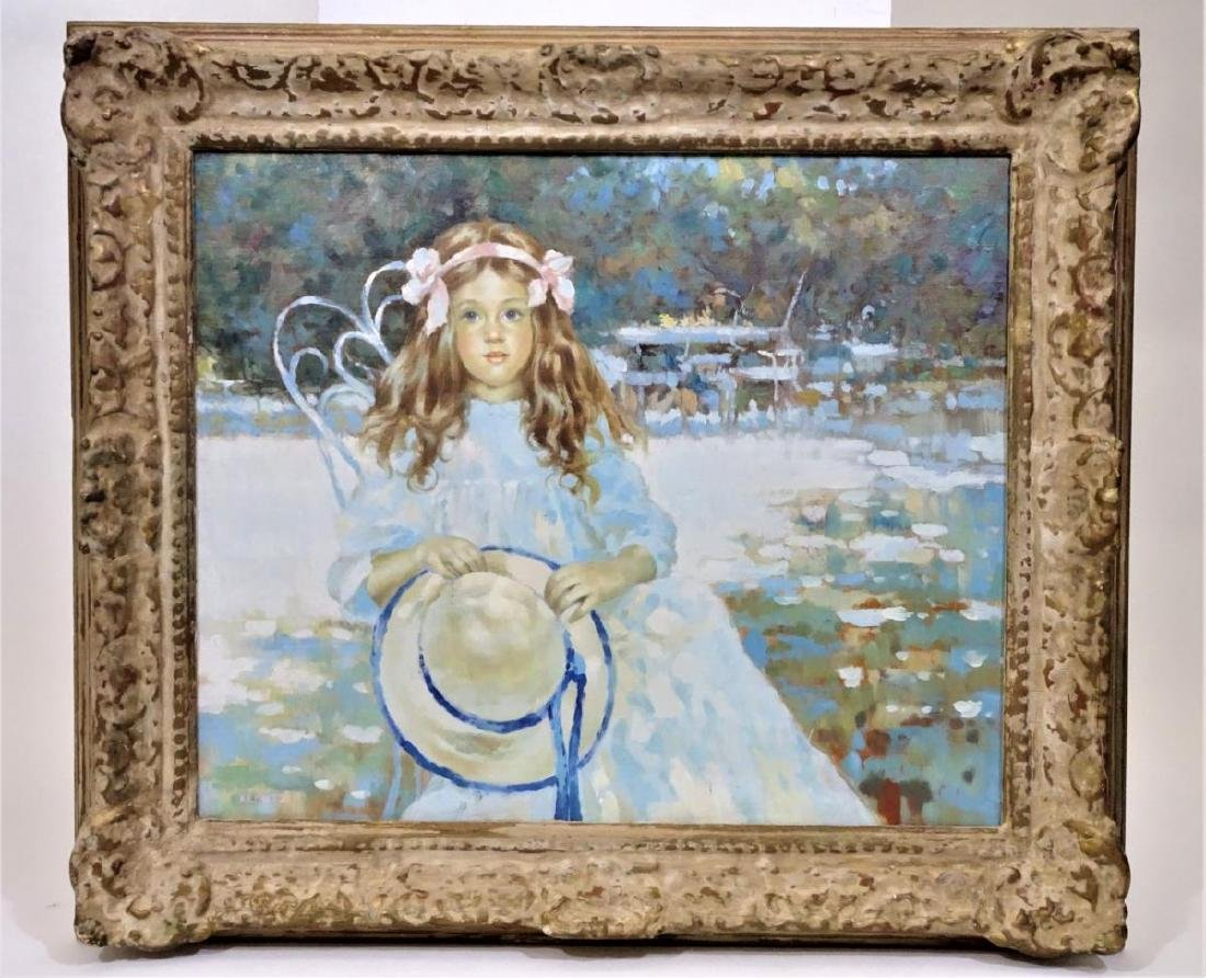 Milton Kemnitz  (1911-2005) American, Oil/Canvas