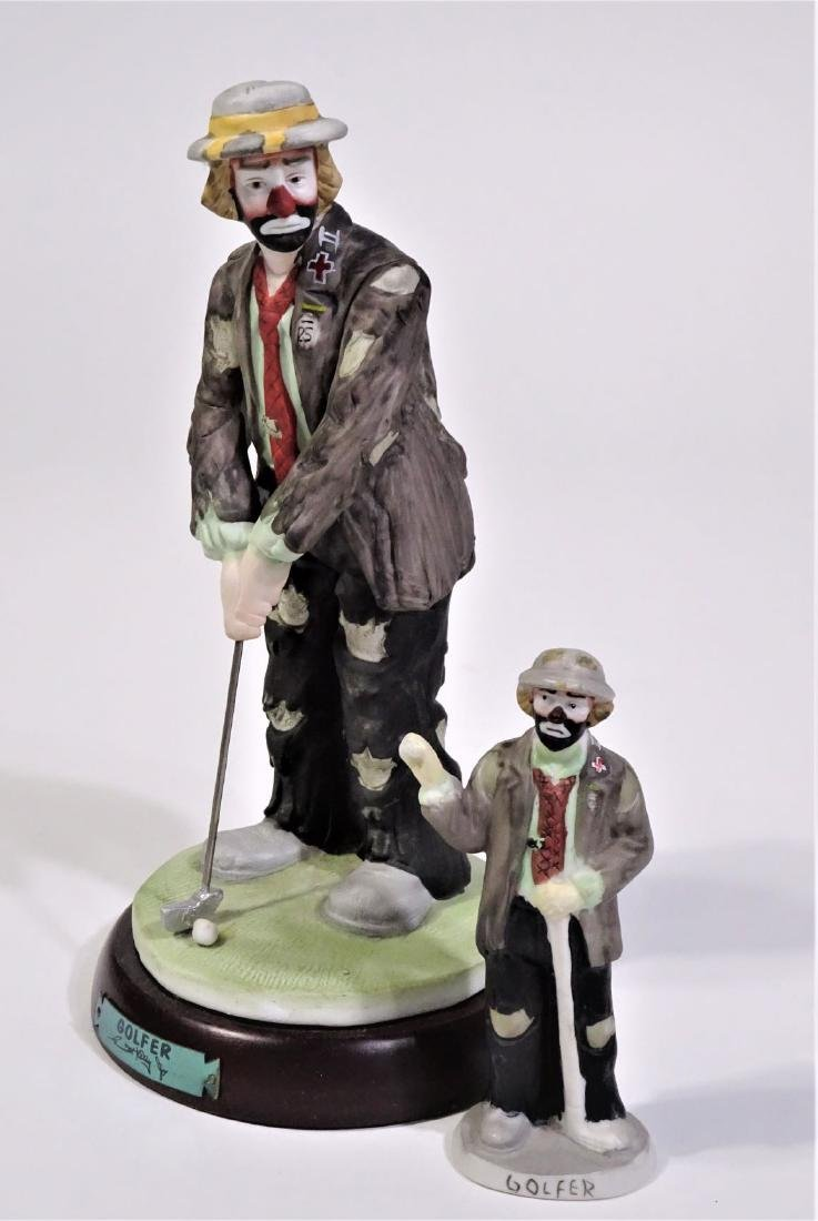 Golfer clown Emmett Kelley Jr