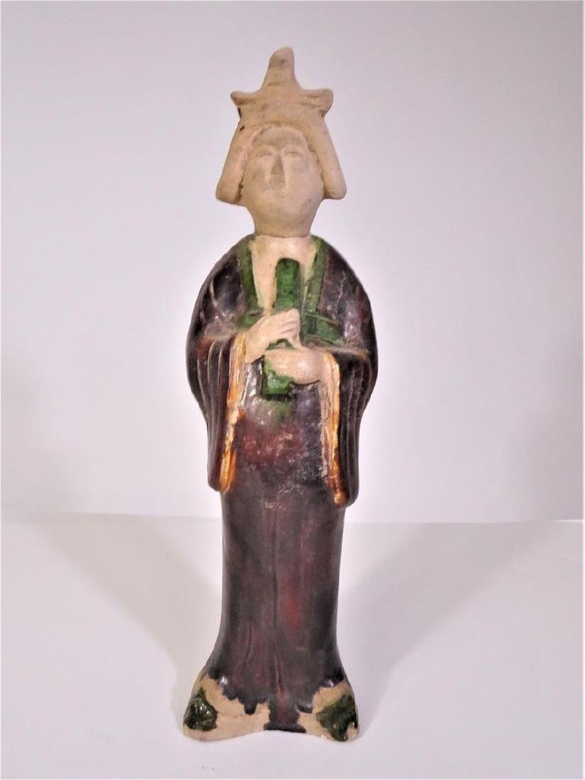 Chinese Ceramic Figure of a Tang Beauty