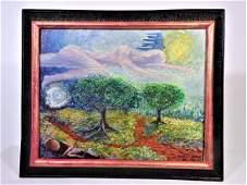 After Van Gogh, 20th Century American, O/C