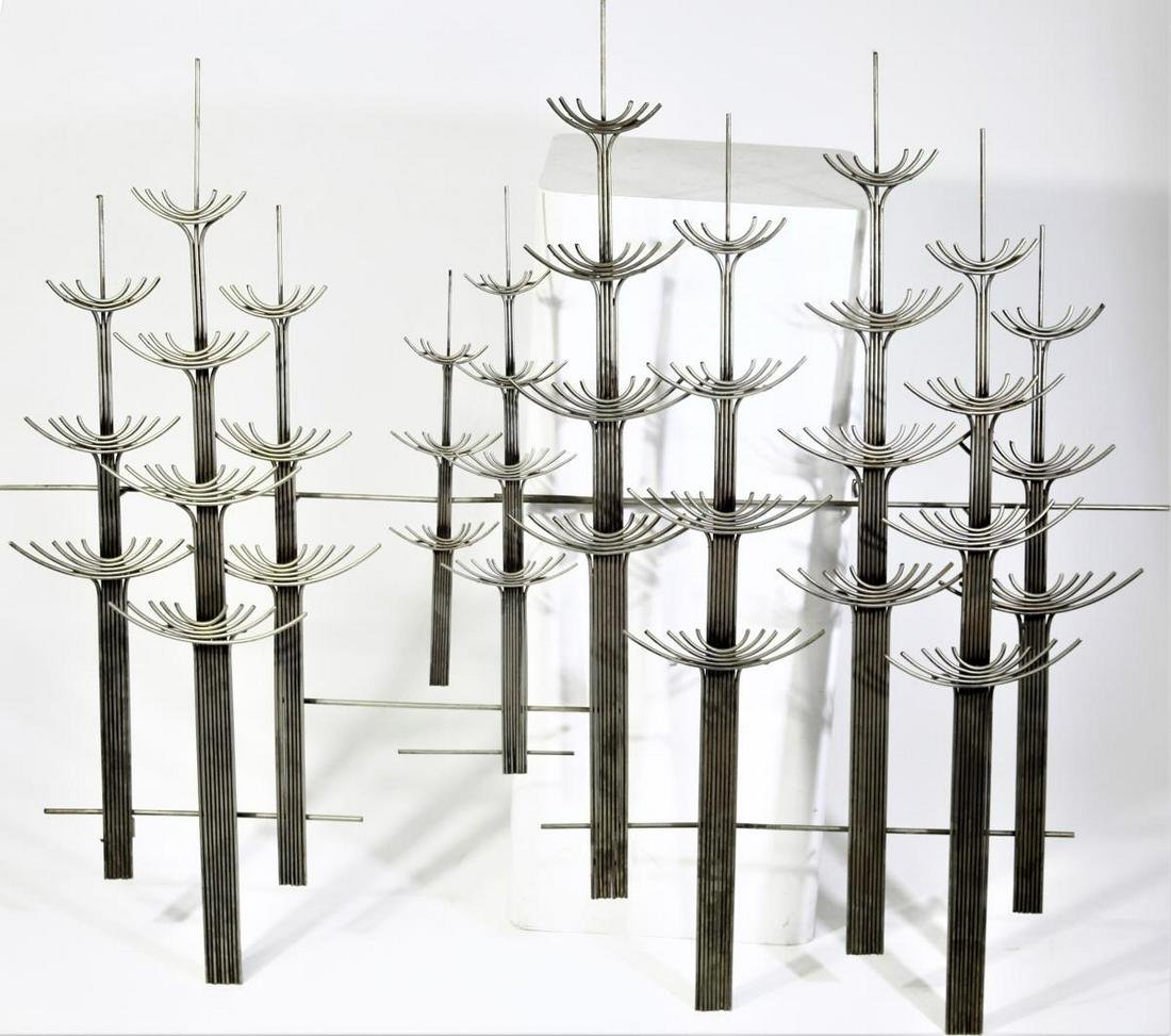 """Signed Curtis Jere """"The Forest""""  Wall Sculpture"""
