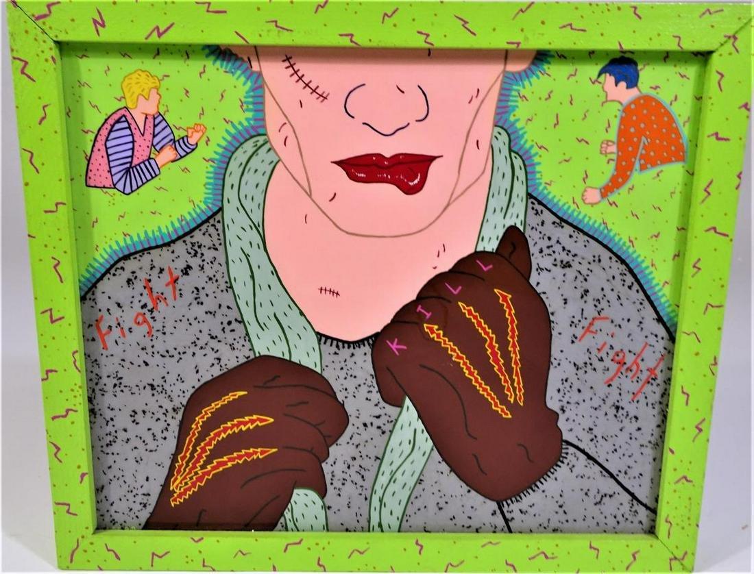 Lee Grantham (born 1953), Acrylic on Plastic