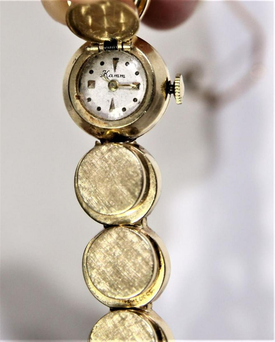 14K Gold Ladies Watch Circa 1950's