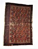Handmade Persian Bokhara Rug