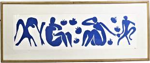 "Henri Matisse  (1869 - 1954) ""Women with Monkeys"""