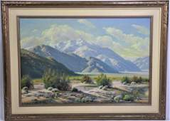 Paul Grimm  (1891 - 1974) Oil on Canvas