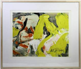 "Willem de Kooning ""The Man and the Big Blonde"""