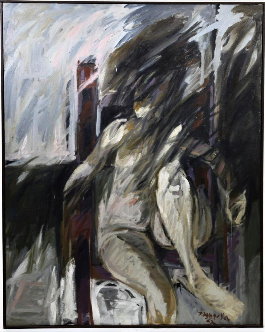 Frank Rampolla  (1931-1971) Florida, Oil / Canvas