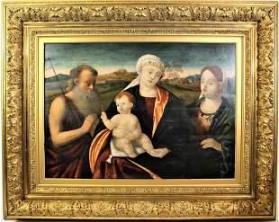 Manner of Tintoretto, 16th C. Venetian School O/P