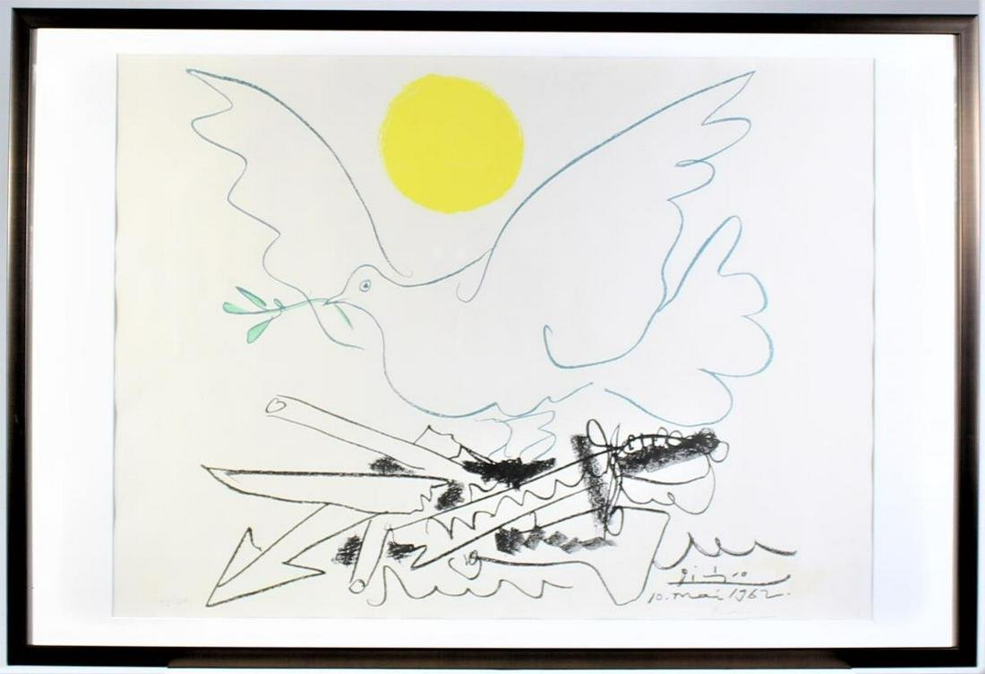 Pablo Picasso (1881 - 1973) Spanish, Lithograph
