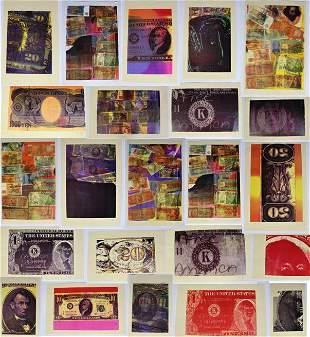 (23) Lesley Schiff (1951 -) American, Laser Prints
