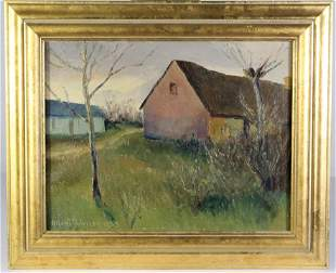 Alfred Pedersen (20th C.) Danish, Oil on Canvas