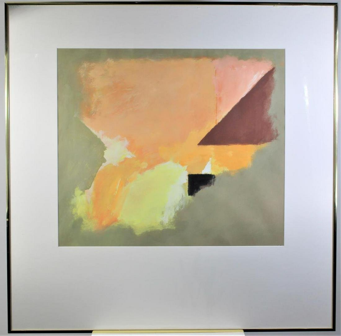 Eugene Brands (1913-2002) Dutch, Abstract Gouache