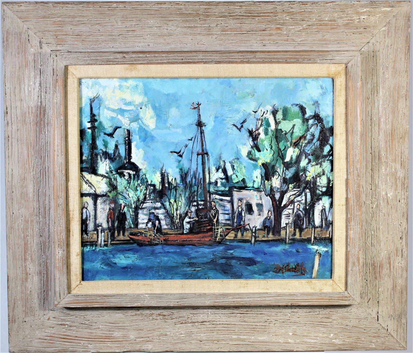 Frank Kleinholz (1901-1987) American, Oil / Canvas