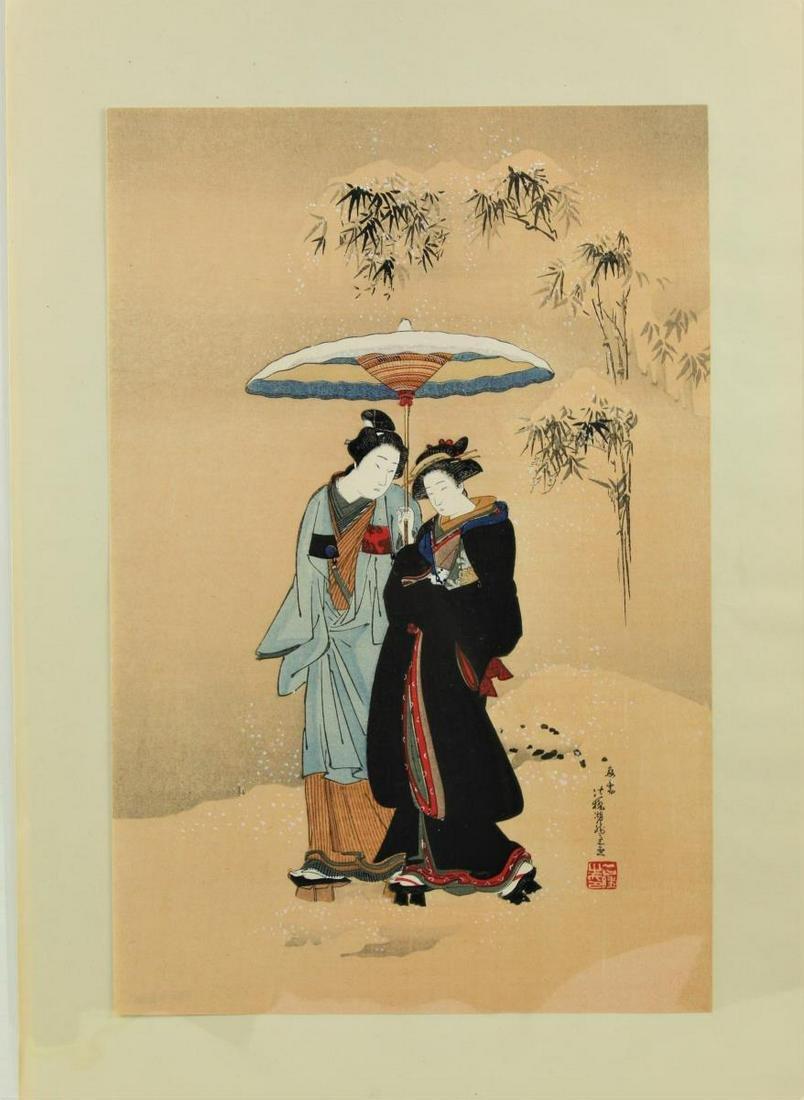 Isoda Koryusai, Japanese Woodblock