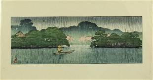 Kawase Hasui, Japanese Woodblock Print