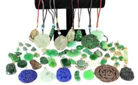 Collection of Jewel & Stone Pendants