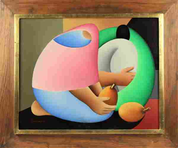 Victor Manuel Cancino (B 1929) Mexico, Oil/Canvas