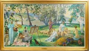 Thomas Gilbert White (1877-1939) American, O/C
