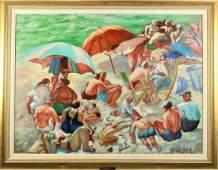 Marie S. Wilner (1910-1982) American, O/C