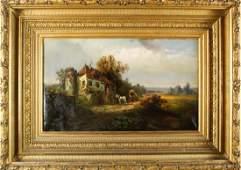 Wilhelm Ritter 18601948 German Oil on Canvas