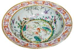 Chinese Famille Qing Dynasty Bowl