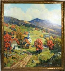 Charles Curtis Allen (American 1886 - 1950) O/C