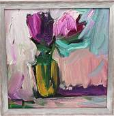 Jose Trujillo 1982 American Oil on Canvas